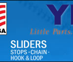 Sliders: Stops, Chain Velco